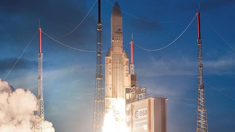 Successful launch of the EDRS-C satellite on board an Ariane 5 launcher