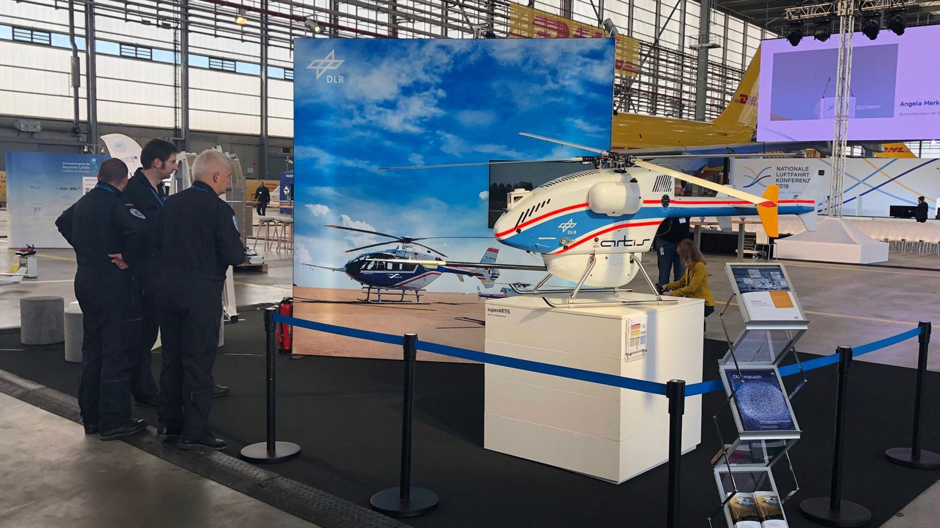 superARTIS, DLR's small uncrewed helicopter