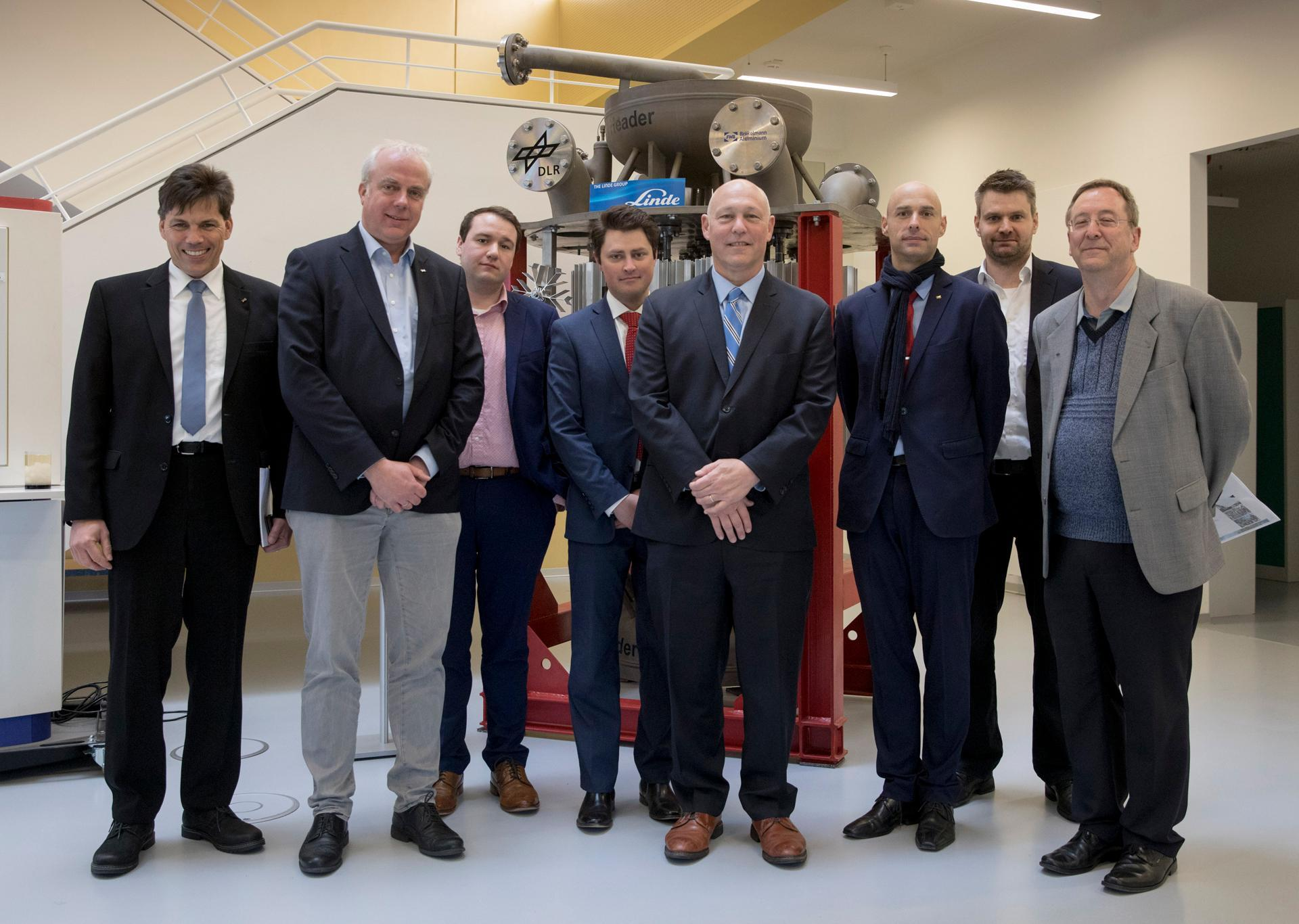 Energy research in focus – a delegation from the US Department of Energy visited DLR Stuttgart