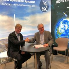 Cooperation between DLR and SSC