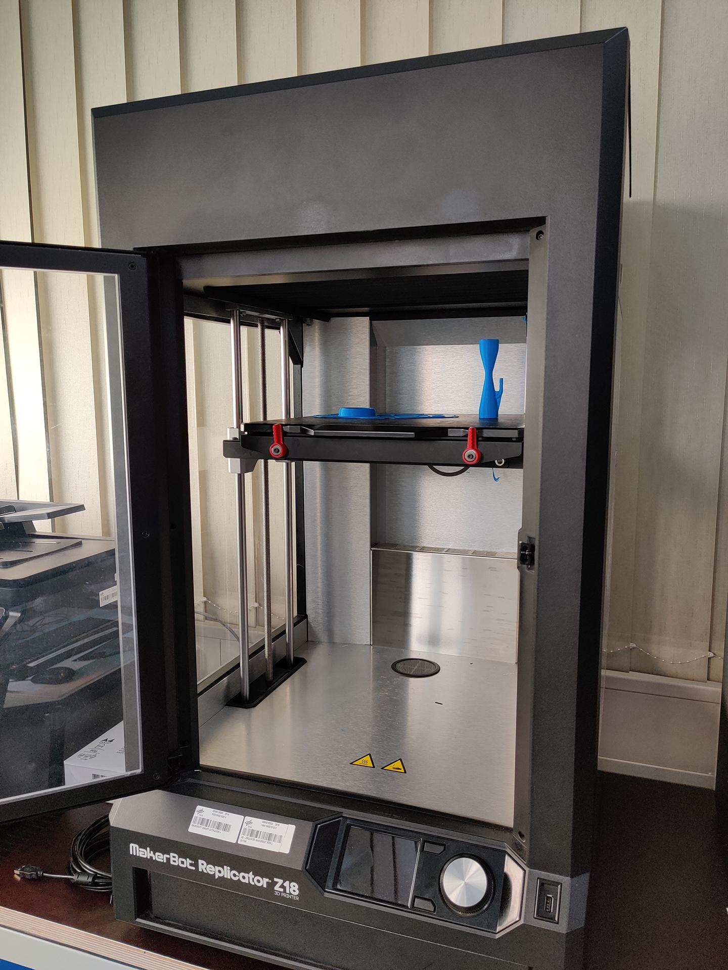 3D printer with valves for ventilators