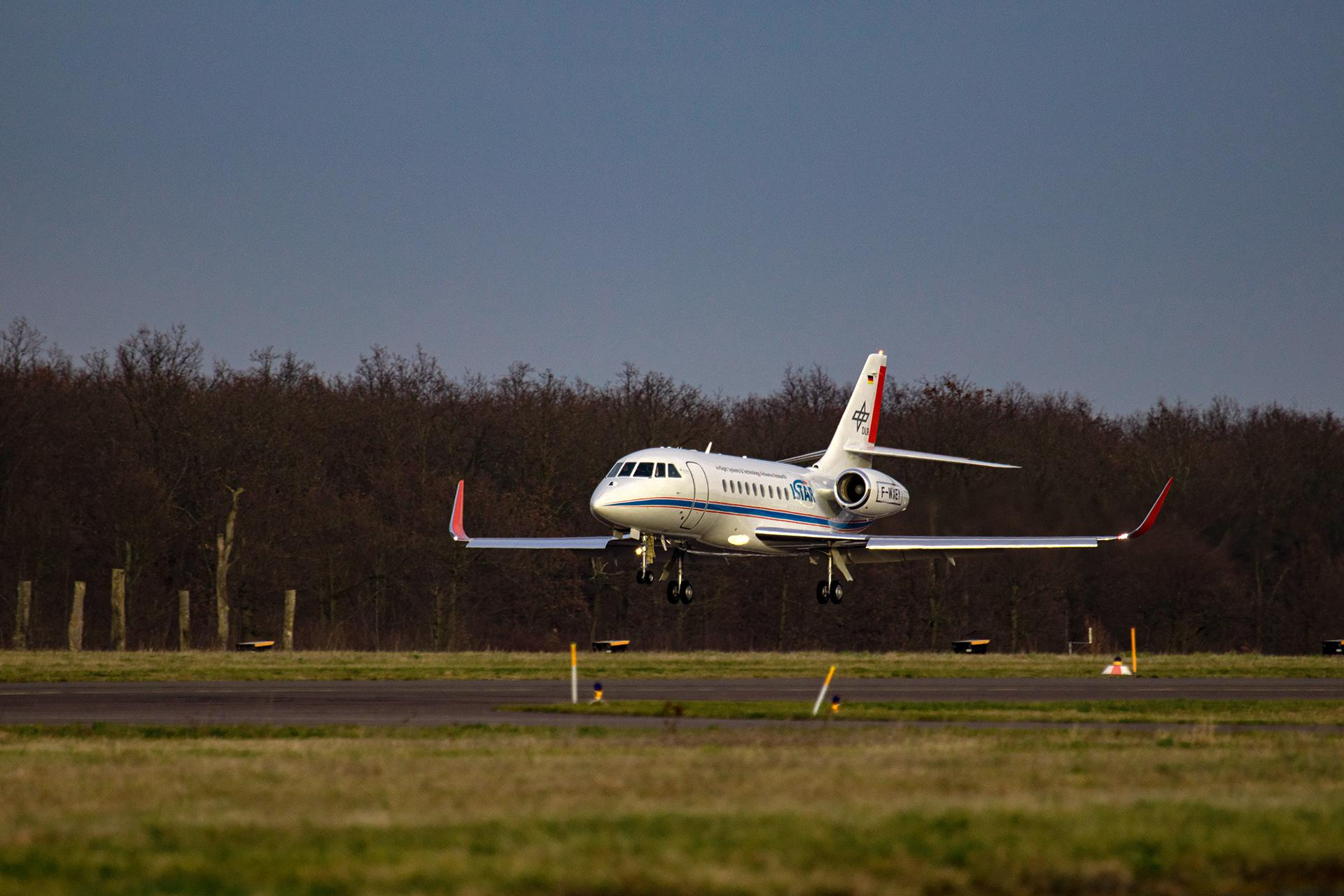 ISTAR landing in Braunschweig for the first time