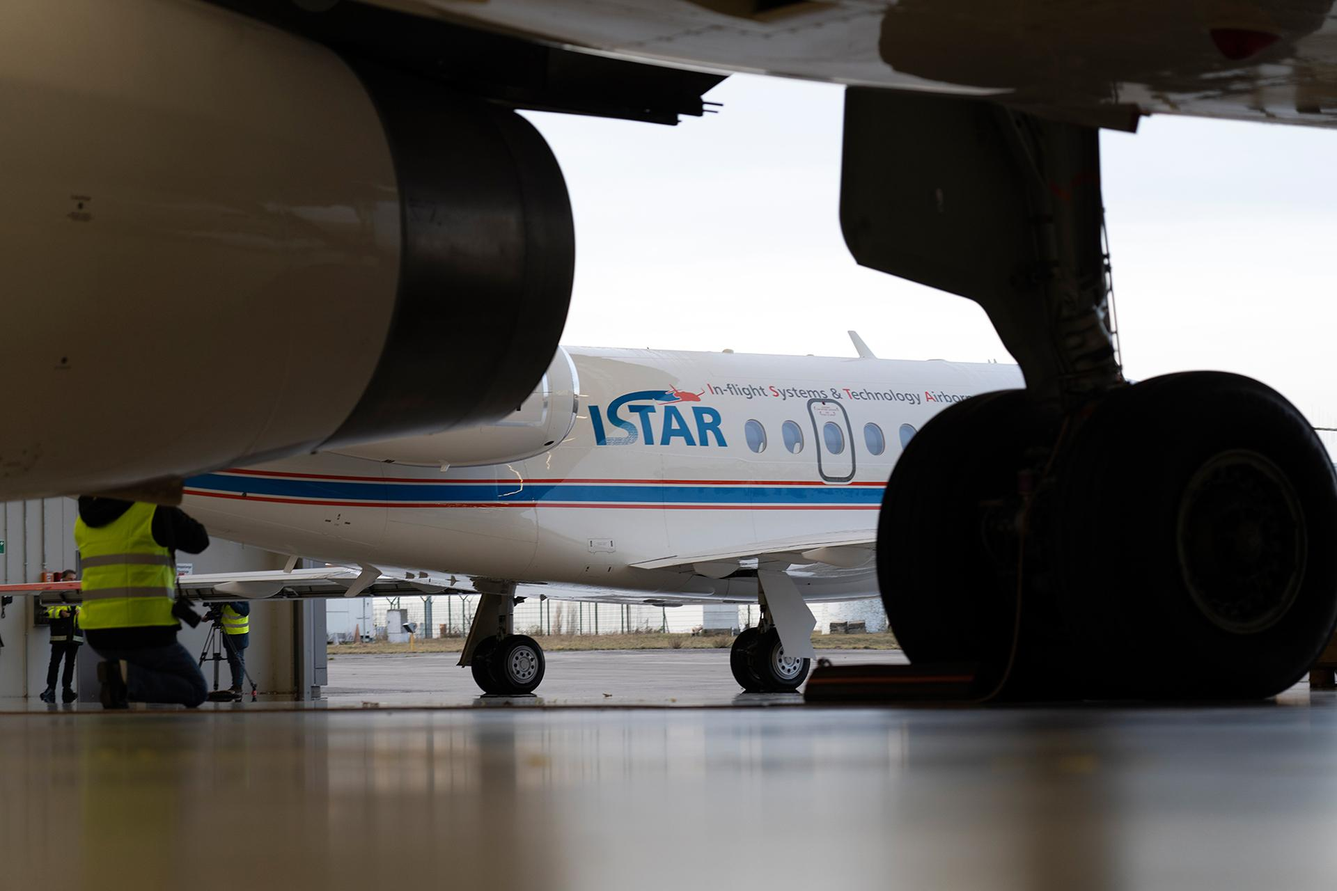 A new home for ISTAR in the hangar at DLR Braunschweig