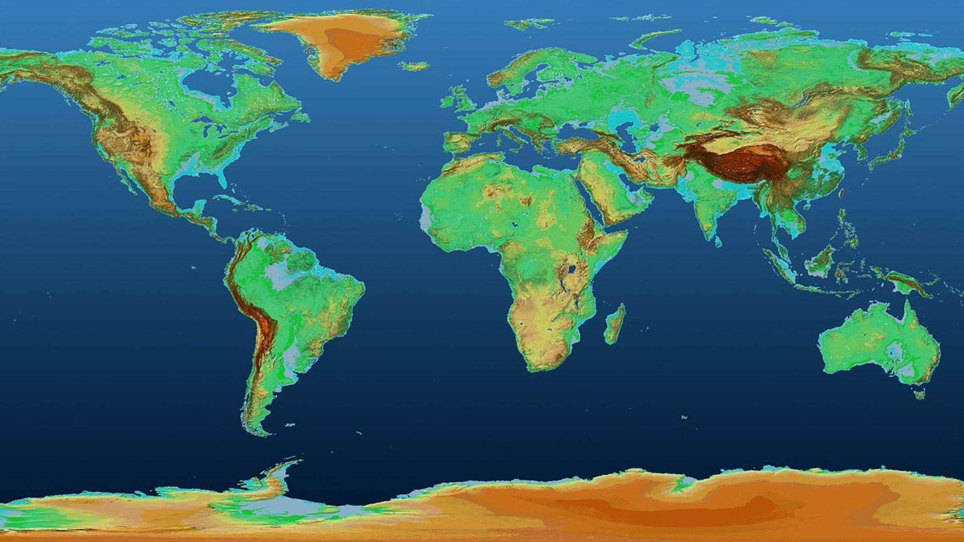 Global TanDEM-X Digital Elevation Model