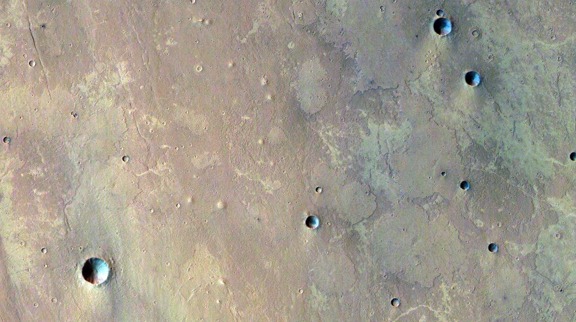 Mud volcanoes on Mars?