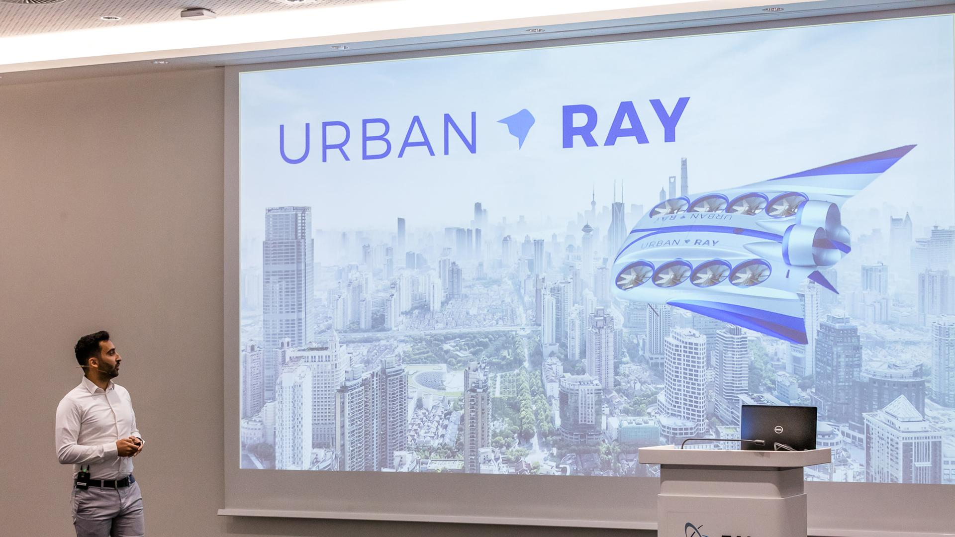Presentation of the 'Urban Ray' concept