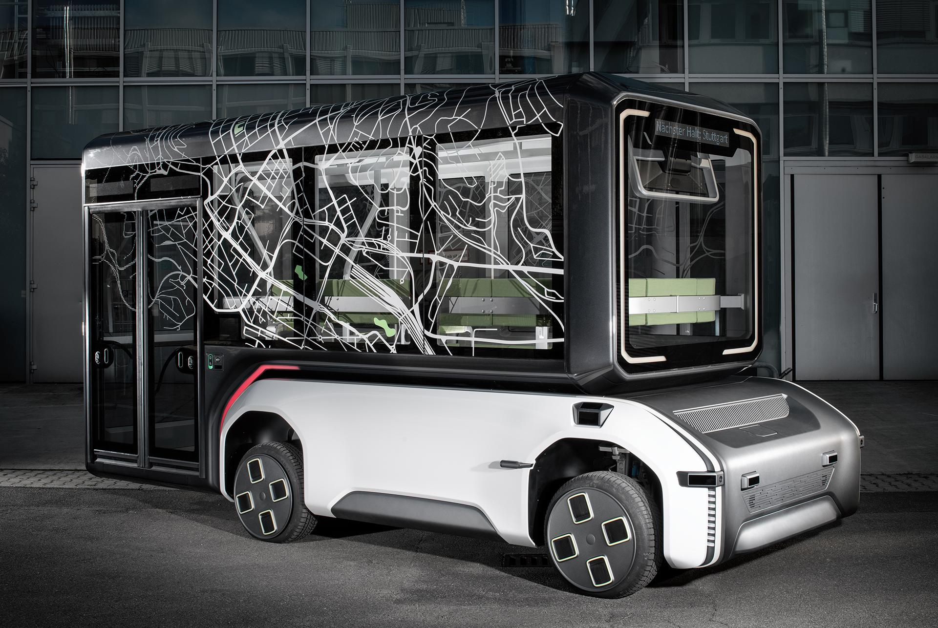 U-Shift - the future-oriented mobility concept offers flexibility
