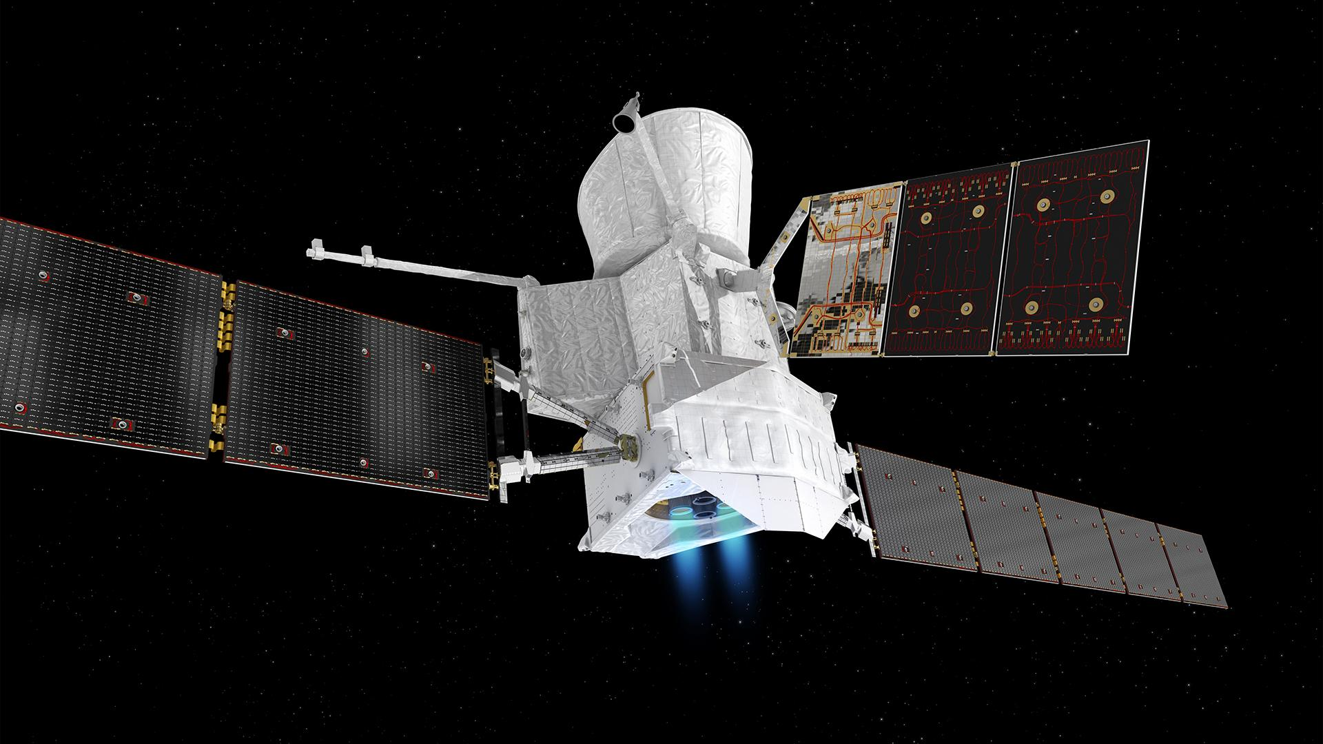 BepiColombo on the long journey to Mercury