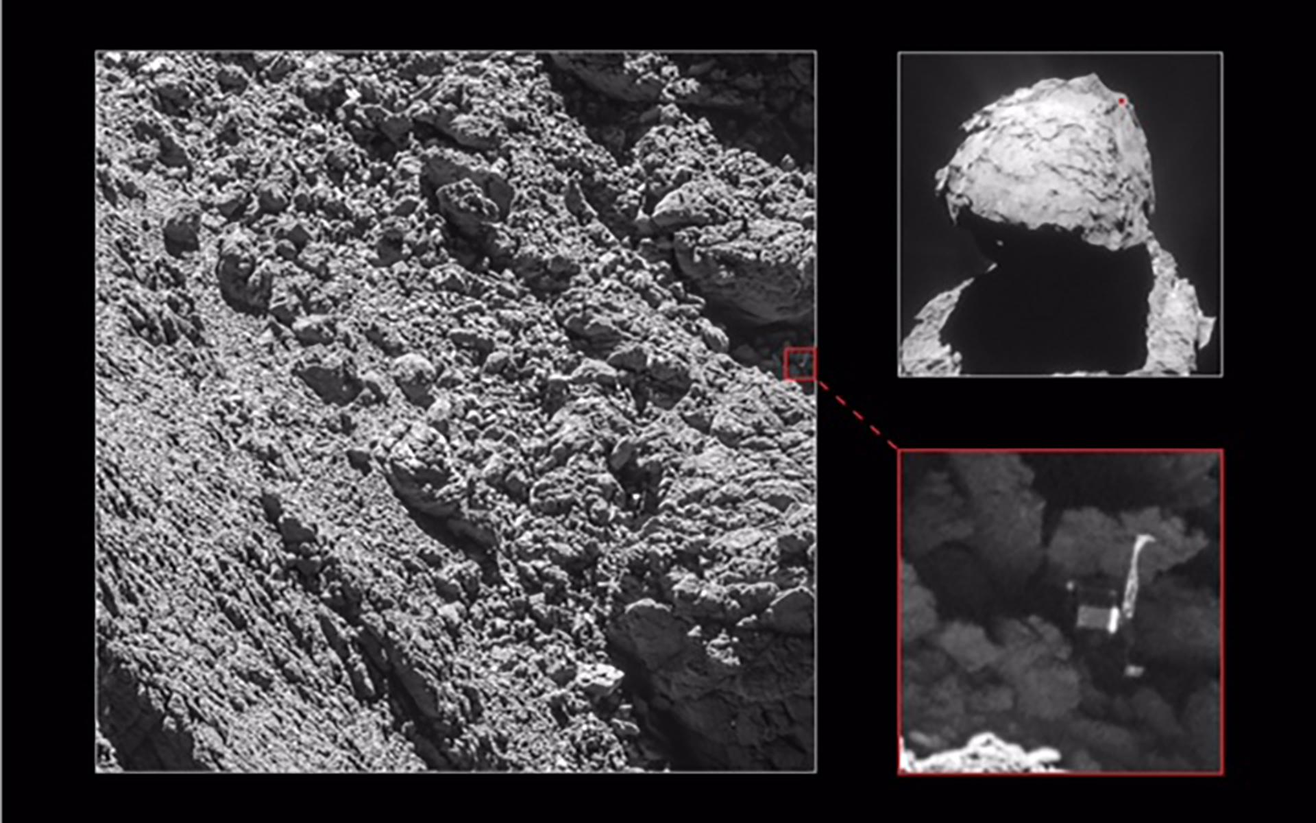 Near the end of the mission: Philae found!