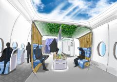 New concept for a modular aircraft cabin