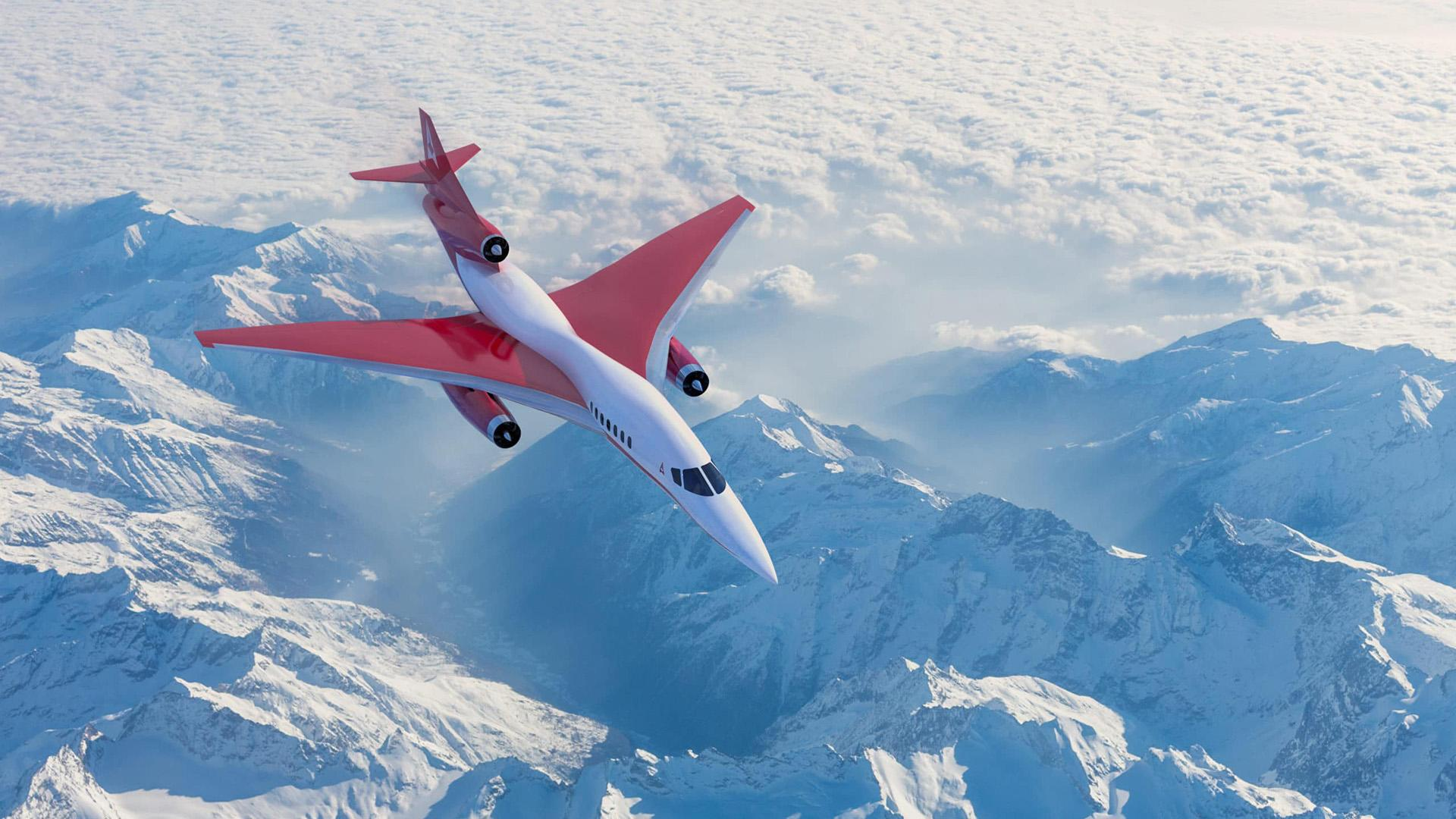 Planned Aerion Supersonic business jet