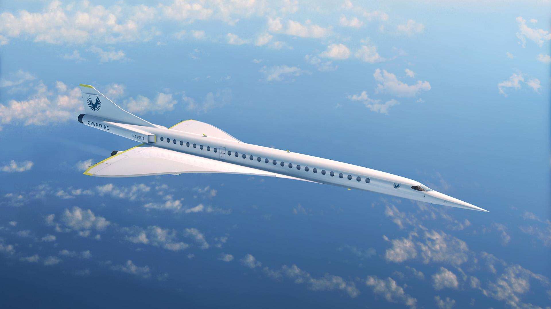 Planned passenger aircraft from Boom Supersonic