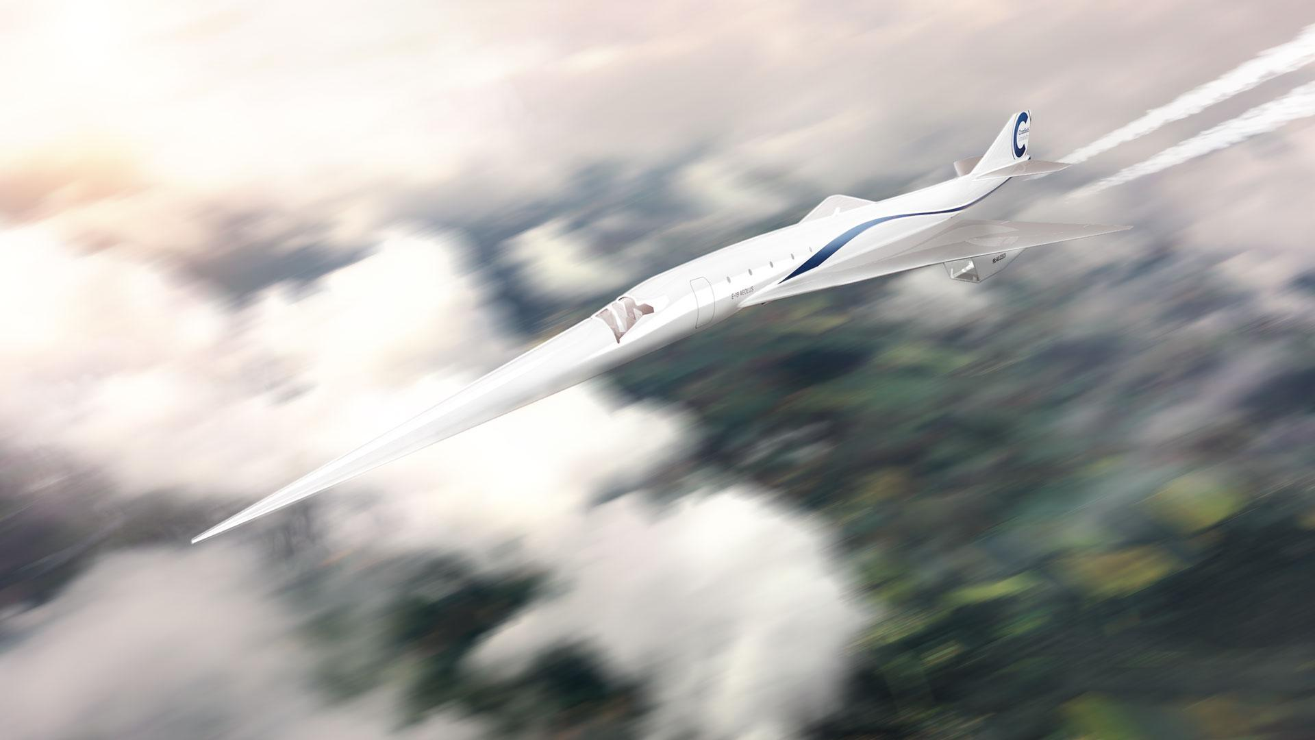 Supersonic aircraft of the future