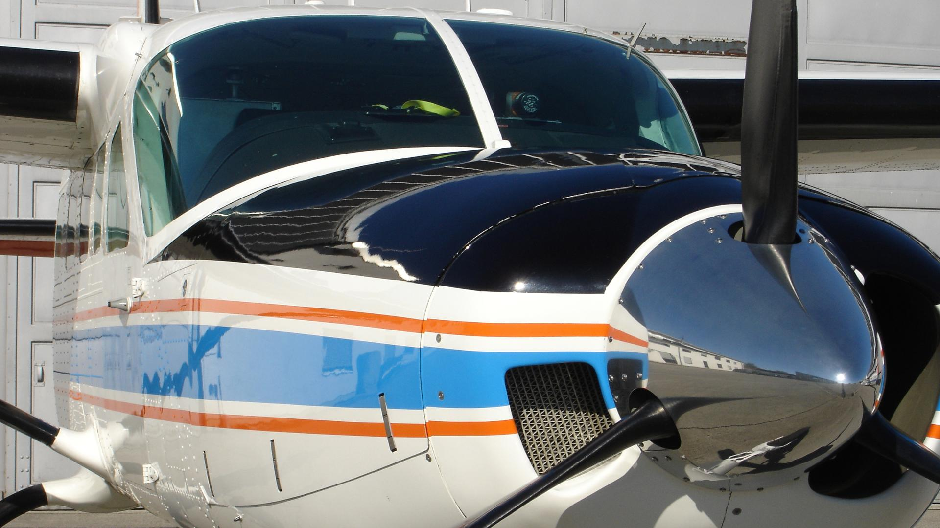 The Cessna 208B Grand Caravan single-engine turboprop aircraft