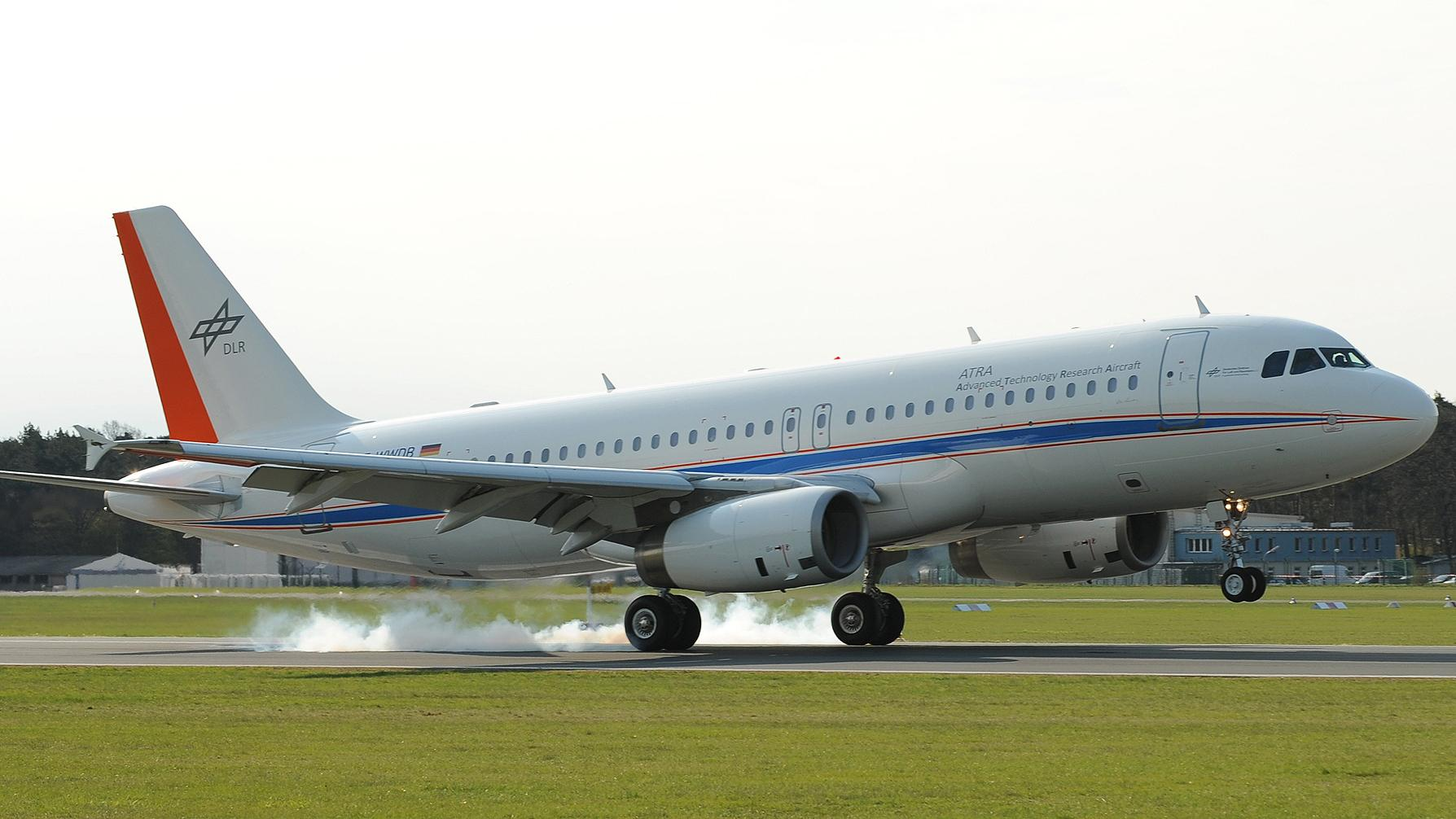 DLR research aircraft A320-232 'D-ATRA'