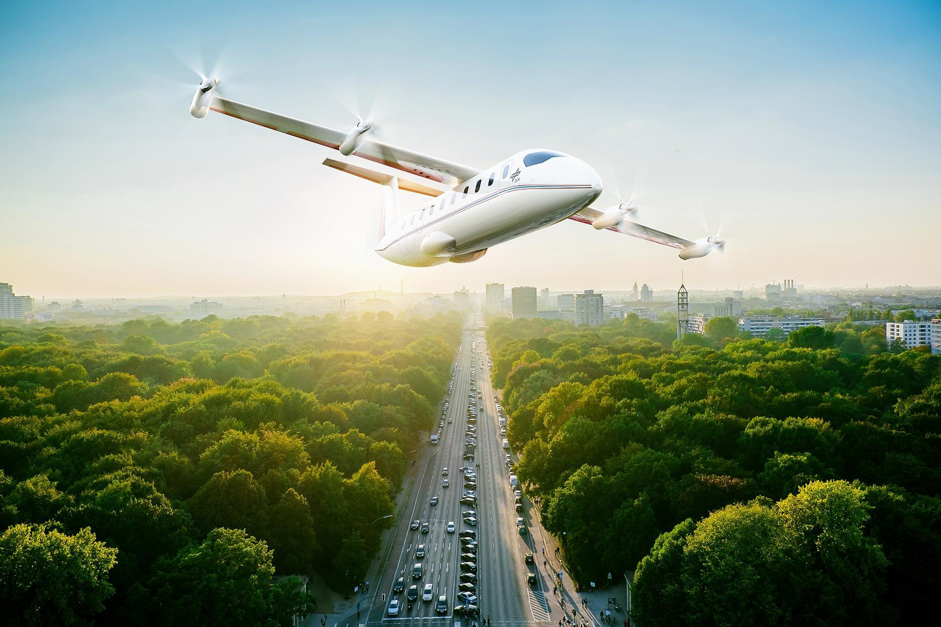 Electric high-flyer for 19 passengers