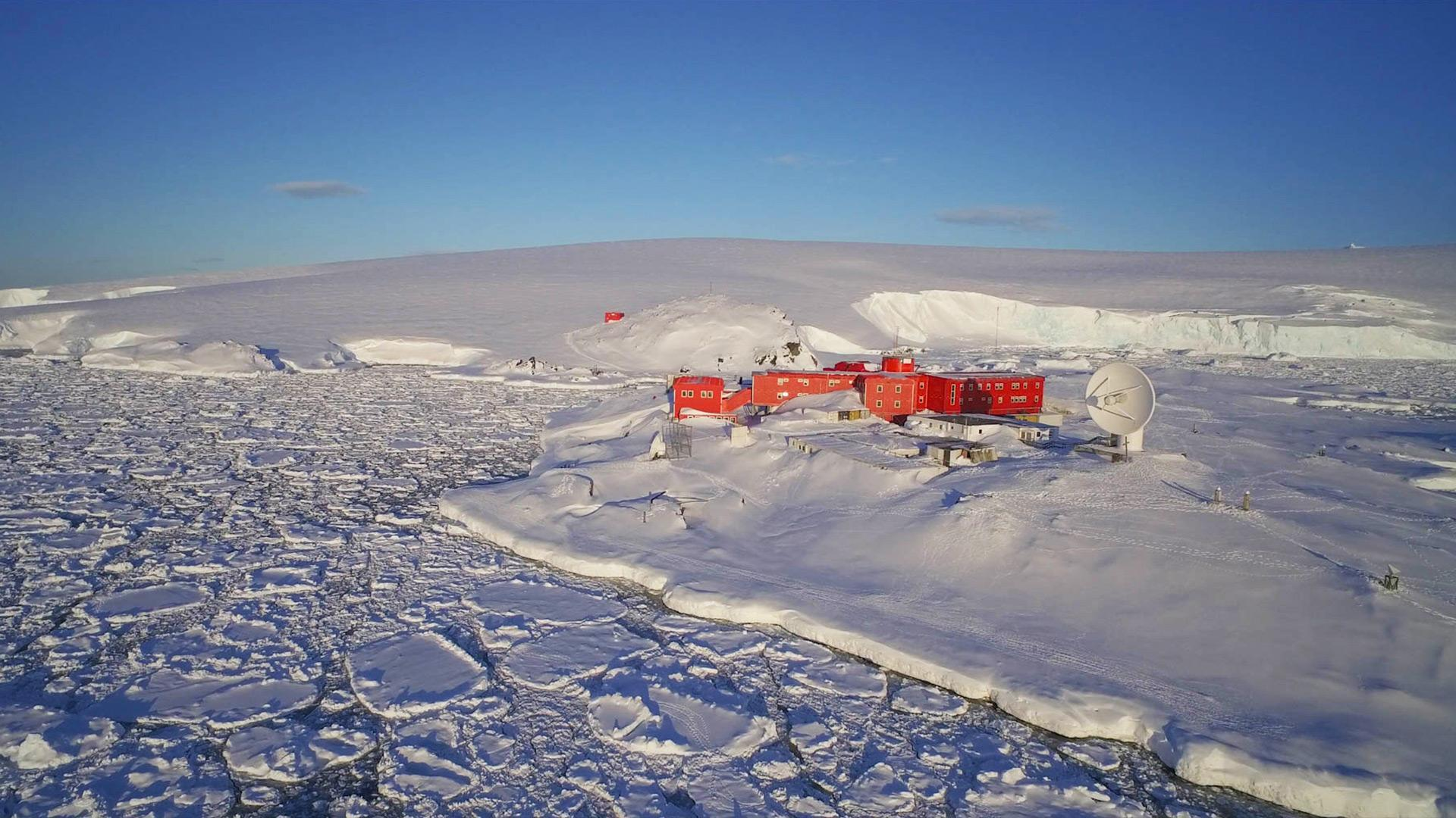 German Antarctic Receiving Station GARS O'Higgins