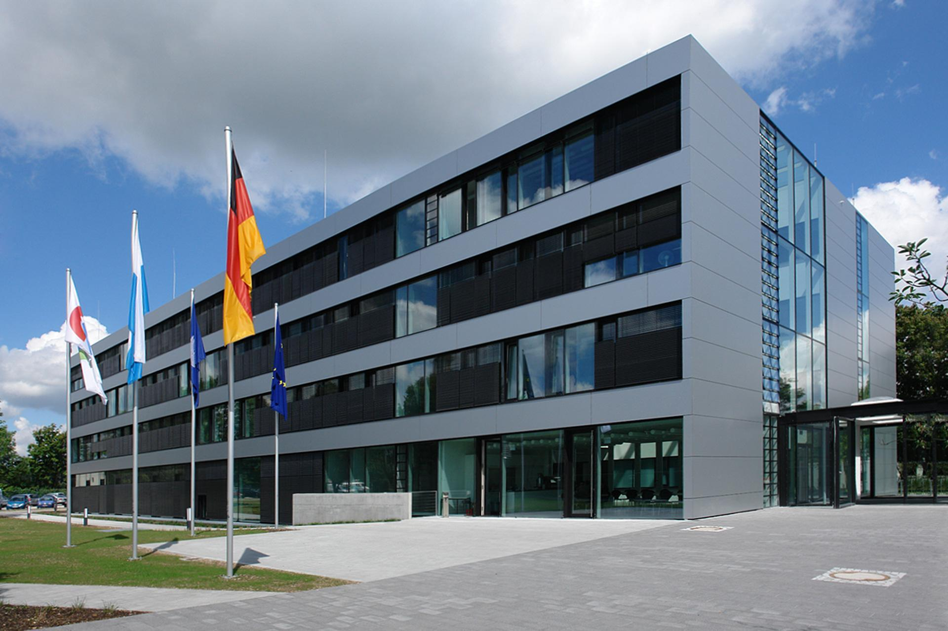 Building of the German Remote Sensing Data Center in Oberpfaffenhofen