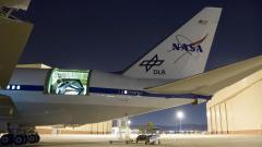 Made in Germany: the 2.7-metre infrared telescope in the fuselage of the Boeing 747SP