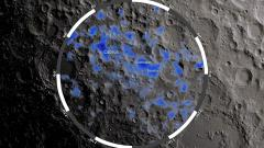 Underground 'ice reservoirs' in the Cabeus, Shoemaker and Faustini craters at the Moon's south pole