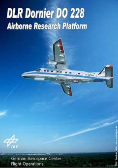 Cover - Brochure DLR Dornier DO 228 - Airborne Research Platform