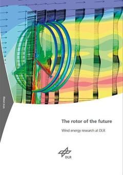 "Cover ""Wind energy research at DLR"""