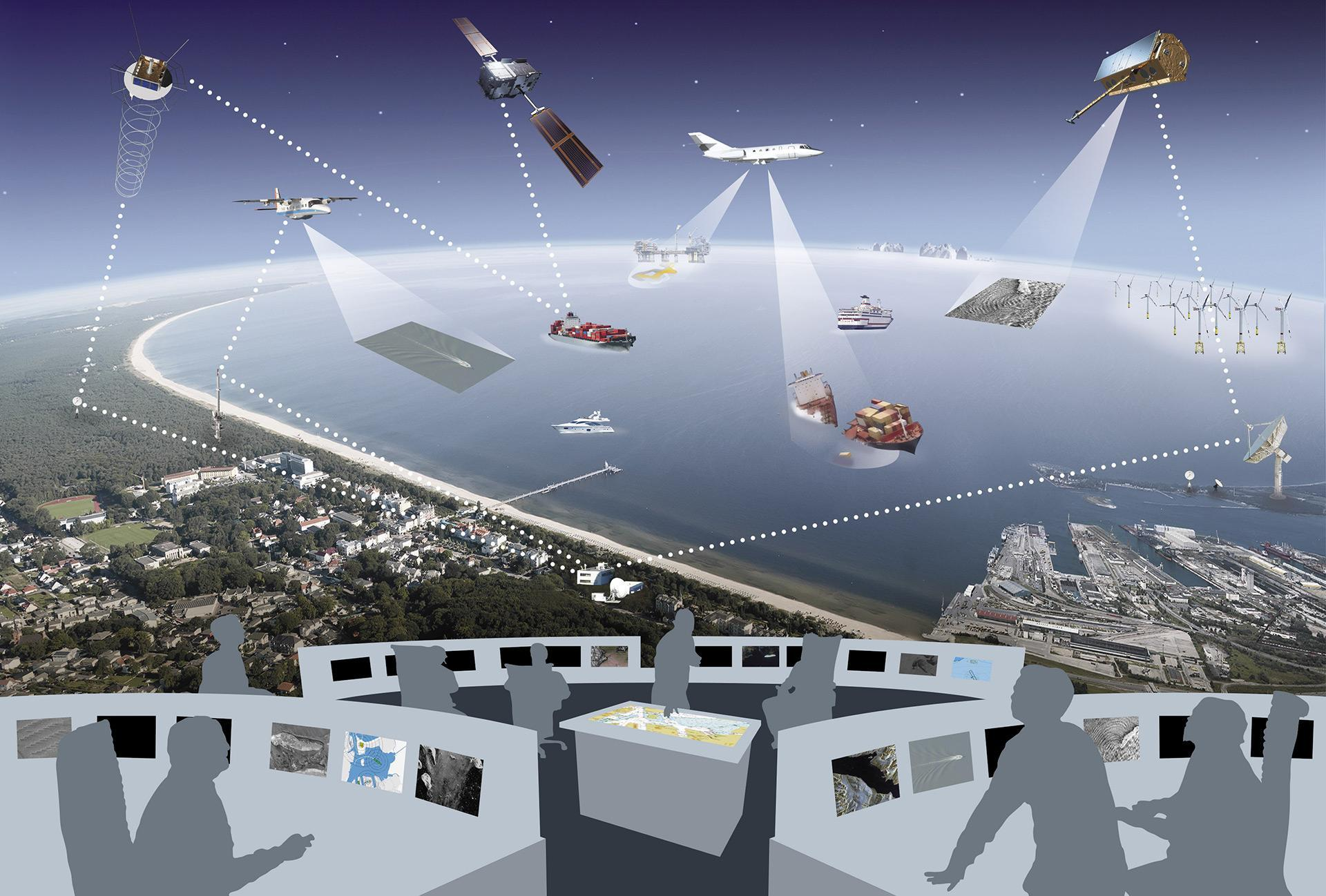 EMS – Real-time services for maritime security