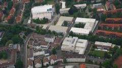 Aerial view of the DLR site in Göttingen.