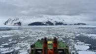 Hilfe aus dem All: Mit Radarsatelliten durch Eis navigieren