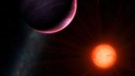 Der Zwergstern NGTS-1 mit seinem Riesenplanet