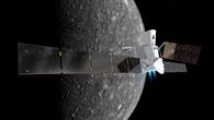 Die ESA-Raumsonde BepiColombo am Merkur