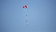 Rakete am Fallschirm %2d CanSat