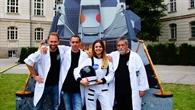 Team der DLR_Raumfahrt_Show
