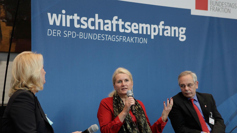 DLR beim SPD Wirtschaftskongress 2015