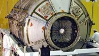 Raumlabor Columbus in der Integrationshalle bei EADS SPACE Transportation in Bremen