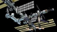 Die ISS nach der Fertigstellung, künstlerische Darstellung