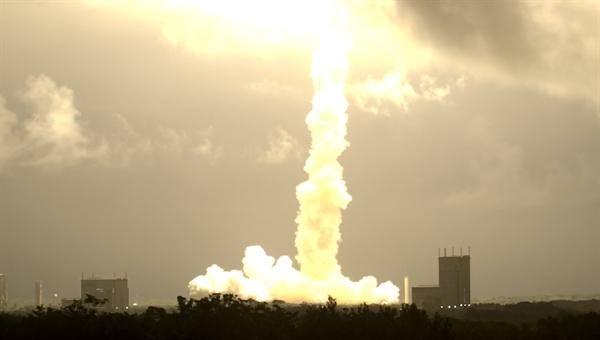 ATV startet sekundengenau am 9. März 2008