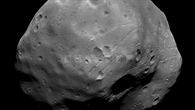 Details der Phobos%2dOberfläche