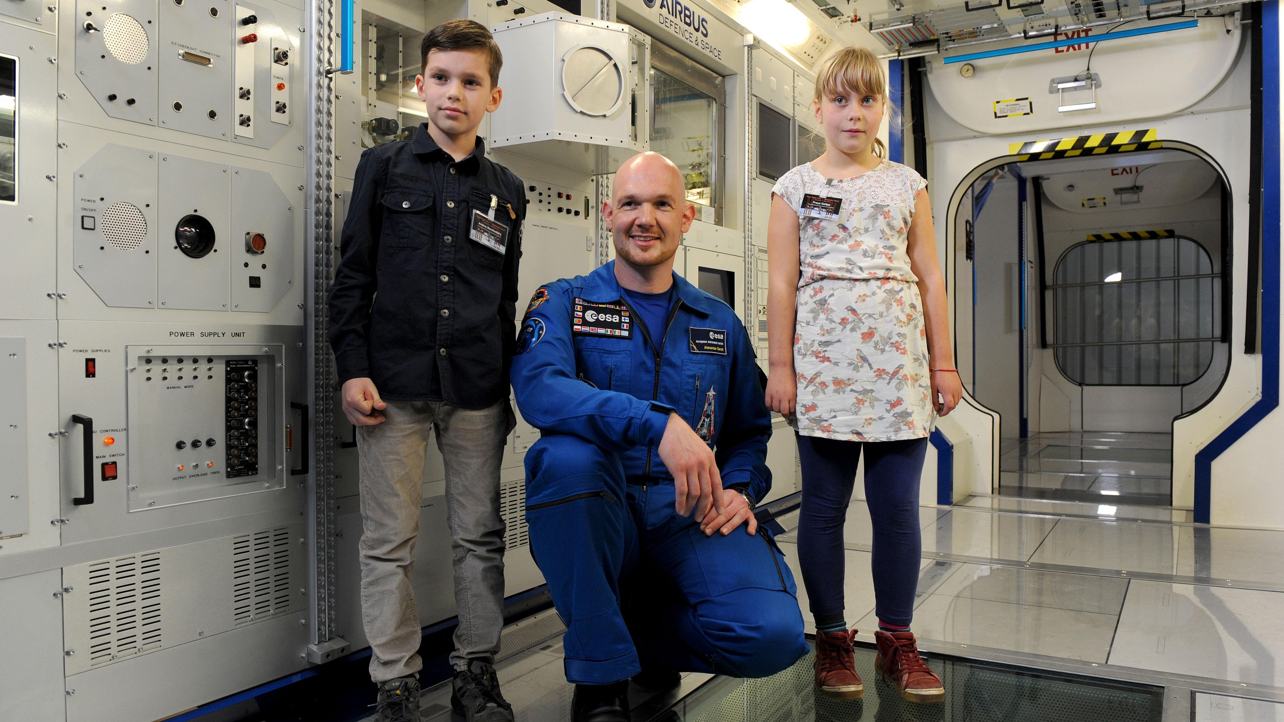 Alexander Gerst Kinder