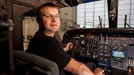 Fliegen für die Forschung: Testpilot Jens Heider