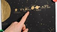 Kinderzeichnung des Planeten Hempel