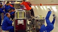 DLR Parabelflug: Forschen unter Schwerelosigkeit