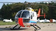 Die fünfsitzige Forschungsplattform Eurocopter BO 105