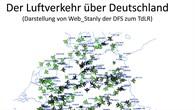 Der Luftverkehr über Deutschland