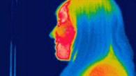 Portrait mit kalter Nase