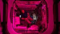 ESA%2dAstronaut Alexander Gerst im Columbus%2dModul