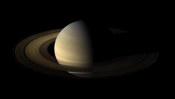 Saturn am Tag der Sonnenwende