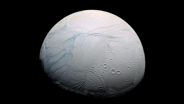 Die vulkanischen Tigerstreifen auf Enceladus