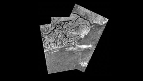 Flusstäler auf Titan