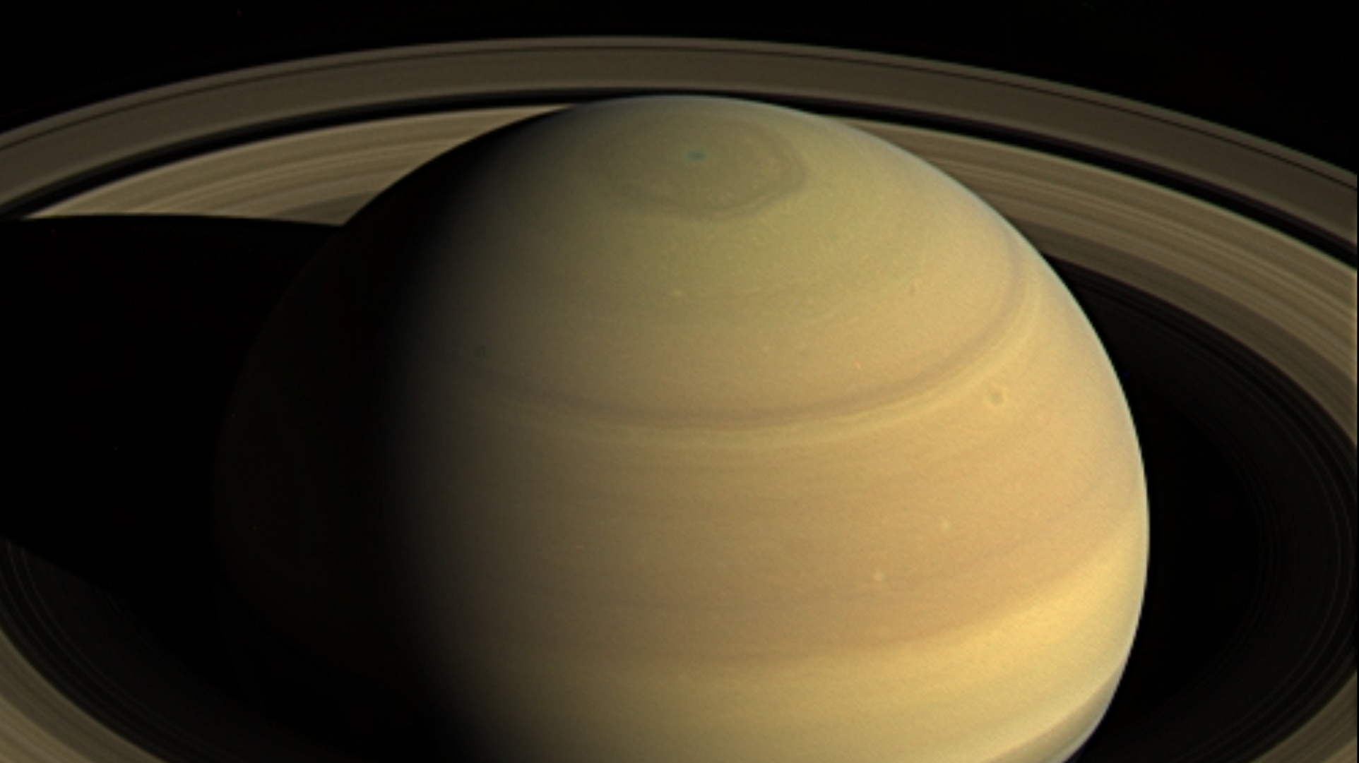 saturns atmosph cassini image - HD 1441×1173